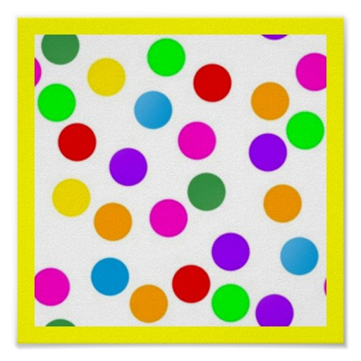 colorful_dots_on_white poster