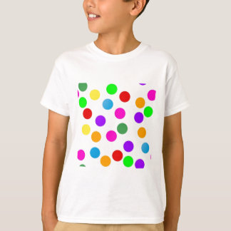 colorful_dots_on_white T-Shirt