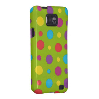 Colorful Dots Samsung Case-Mate Case Galaxy S2 Covers
