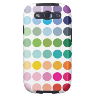Colorful Dots - Samsung Galaxy S3 Vibe Case Galaxy SIII Cases
