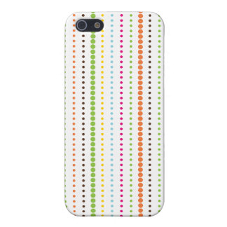 Colorful Dotted Lines iPhone4 Case