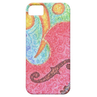 Colorful Double Bass and Clef - Phone Cover iPhone 5 Case