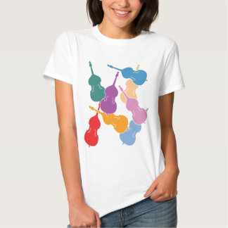 Colorful Double Basses T Shirt