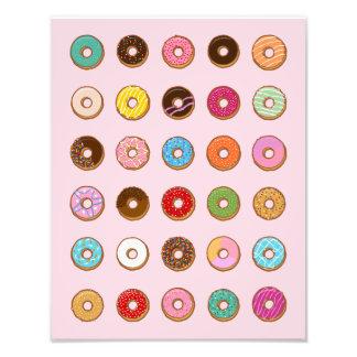 Colorful Doughnuts Photo Print