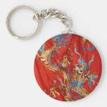Colorful Dragon Keychain