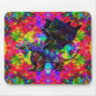 Colorful Dragon Mouse Pad
