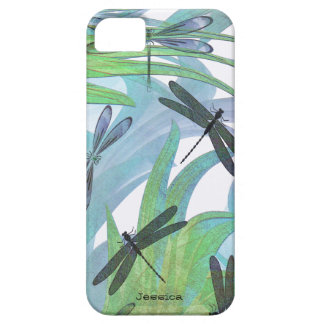 Colorful Dragonfly Abstract Custom iPhone SE/5/5s Case