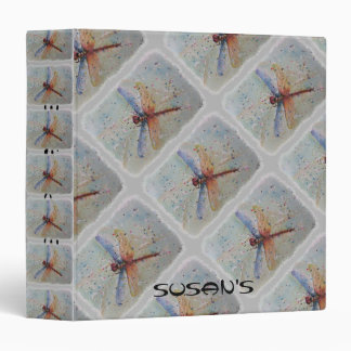 COLORFUL DRAGONFLY BINDER