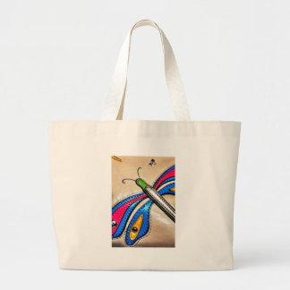 Colorful Dragonfly Design Bag