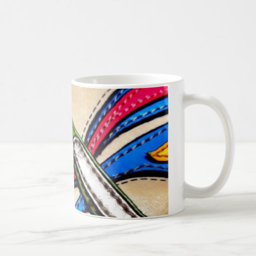 Colorful Dragonfly Design Coffee Mug