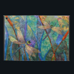 """Colorful Dragonfly iPad Air 2 Case<br><div class=""""desc"""">Colorful Dragonflies. Thank you for stopping by today. I am a photographer, mixed media and digital artist. You can personalize the product by add text if you like to make it your own. Or leave it the way it is. I had a lot of fun designing the colorful dragonflies. I...</div>"""