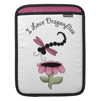 Colorful Dragonfly iPad Sleeve