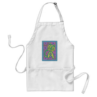 Colorful Dreamland Cat Aprons