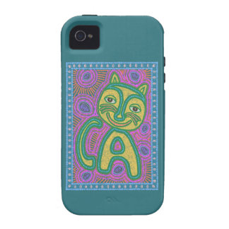 Colorful Dreamland Cat Case-Mate iPhone 4 Covers