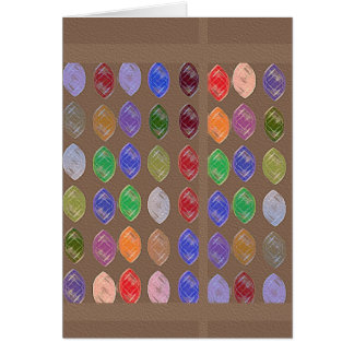 Colorful Dreams: Diamonds,Rubies n Pearls Card
