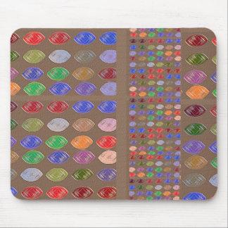 Colorful Dreams: Diamonds,Rubies n Pearls Mouse Pad