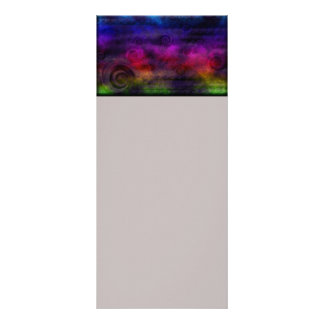 Colorful Dreamy Abstract Rack Card