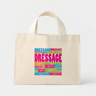 Colorful Dressage Mini Tote Bag