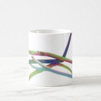 Colorful driftwoods coffee mug