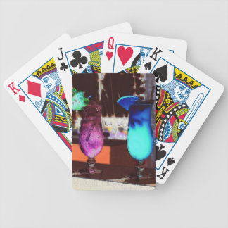 Colorful Drinks Bicycle Playing Cards