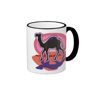 Colorful Dromedary Camel Mugs