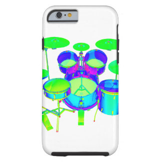 Colorful Drum Kit Tough iPhone 6 Case