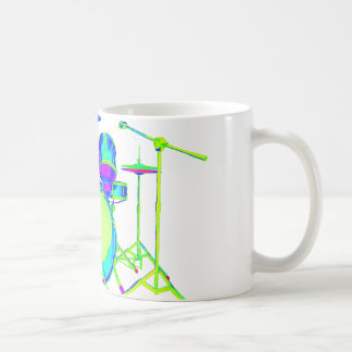 Colorful Drum Kit Mug