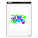 Colorful Drum Kit Skins For iPad 2