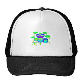 Colorful Drum Kit Trucker Hat