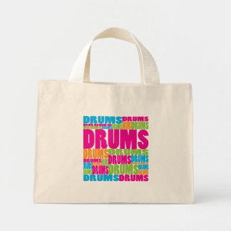 Colorful Drums Mini Tote Bag