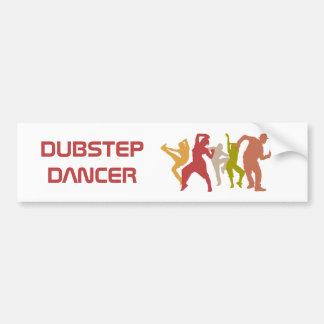 Colorful Dubstep Dancers Bumper Sticker