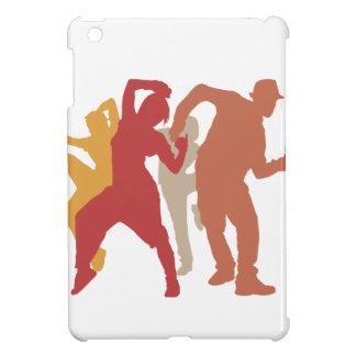 Colorful Dubstep Dancers iPad Mini Cases