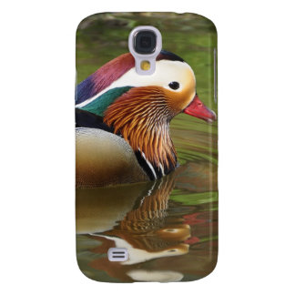 Colorful Duck in Water Gifts for Duck Lovers Galaxy S4 Cover