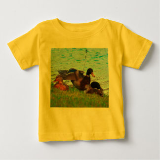 Colorful Ducks Baby T-Shirt