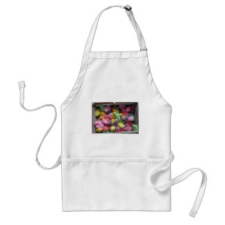 Colorful dyed chicks apron