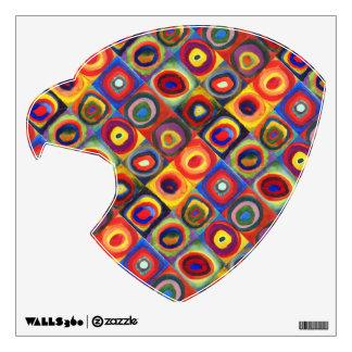 Colorful Eagle Head Wall Sticker