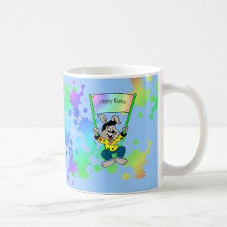 Colorful Easter Bunny Coffee Mug