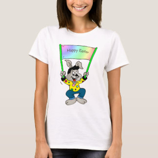 Colorful Easter bunny T-Shirt