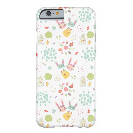 Colorful Easter Clipart Pattern Barely There iPhone 6 Case