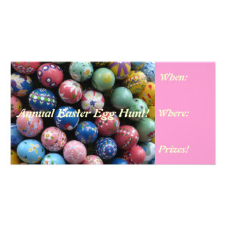 Colorful Easter Egg Hunt Invites