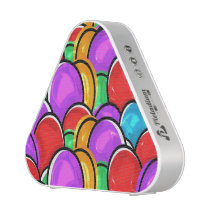 Colorful Easter Eggs Bluetooth Speaker