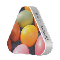 Colorful Easter Eggs Custom Photo Bluetooth Speaker