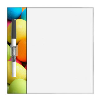 Colorful Easter Eggs Dry Erase Board