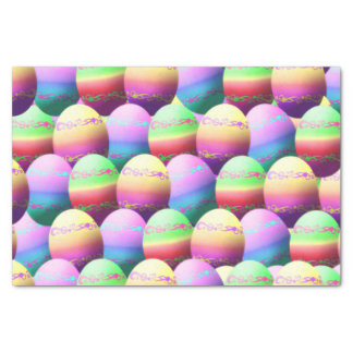 Colorful Easter Eggs  Gift Tissue Paper