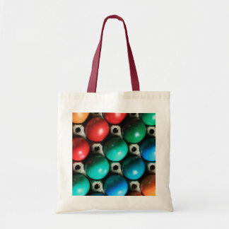 Colorful Easter Eggs in Carton Tote Bag