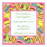 Colorful Easter Eggs Invitation