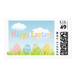Colorful Easter Eggs stamps