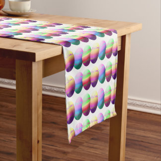 Colorful Easter Eggs Table Runner