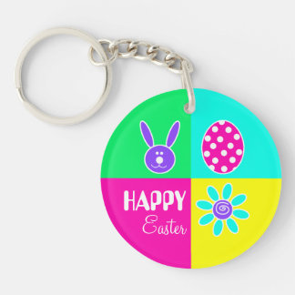 Colorful Easter Keychain