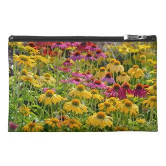 Colorful echinacea flora print bag
